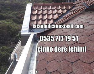çinko dere fiyatları-Titanyum çinko çatı deresi