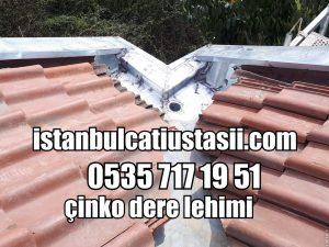 Titanyum alaşımlı ithal çinko dere – Çinko Çatı Dere Fiyatları
