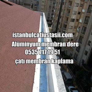 Membran dere. Membran çatı