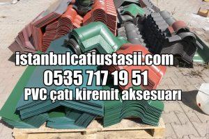 Plastik PVC Çatı Paneli Aksesuarları