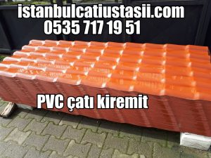 plastik panel kiremit pvc kiremit