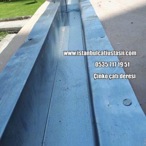 Çinko çatı gizli deresi fiyatları- Çinko dere- Çinko çatı oluk fiyatları-