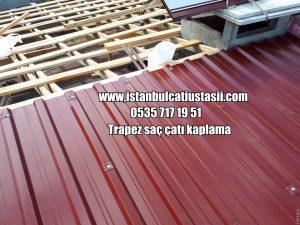 Trapez çatı kaplama fiyatları- Ahşap çatı yapımı m2 fiyat-