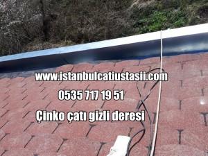Çinko çatı dere kaplama fiyatları, Arduazlı membran ile çatı örtüsü yapılması,