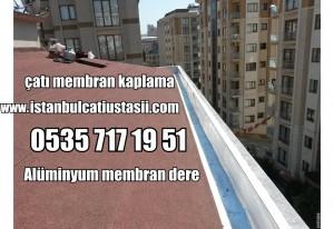 Alüminyum membran çatı deresi, Alüminyum membran deresi,